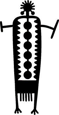 [Sculpture of a Coso Range Shaman]