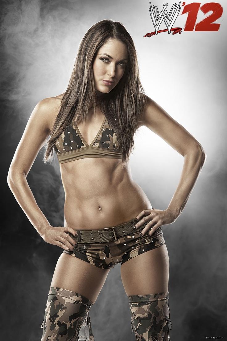 Brie Bella Fitness Motivation Wwe  Fierce Pinterest