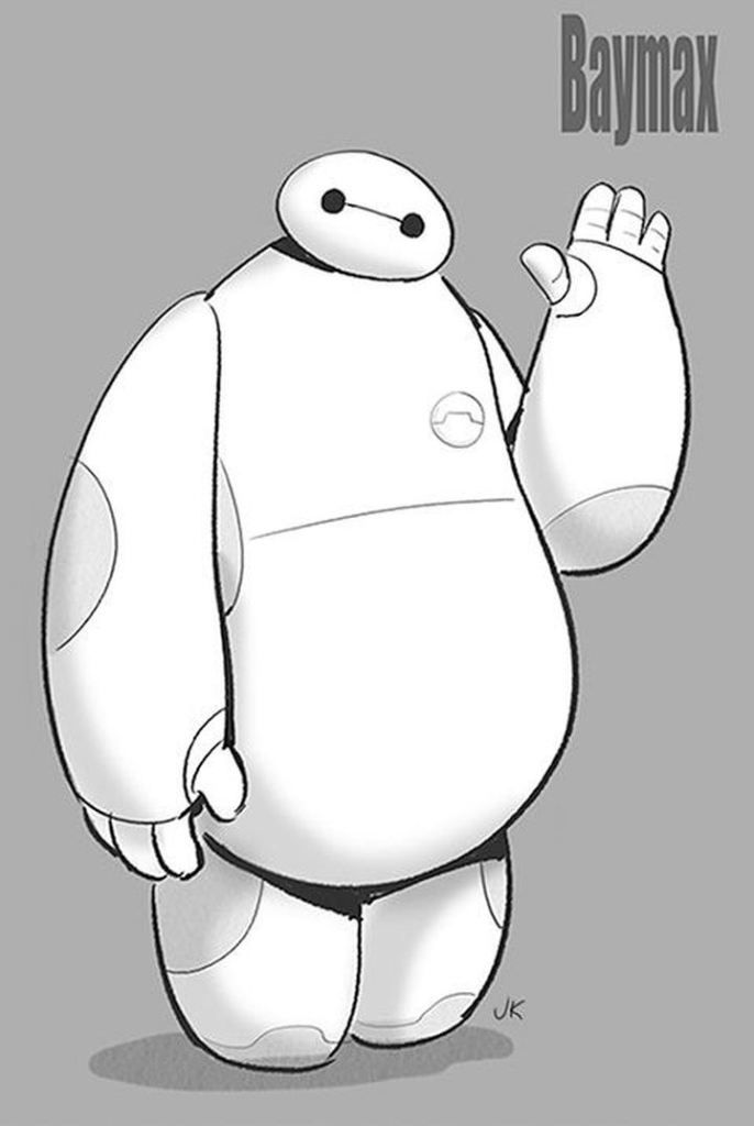 Best Baymax Images On Pinterest Baymax Big Hero And Big - Baymax imagined famous disney characters