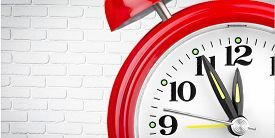 picture of time - Clock Alarm Clock Time Red Clock Face Time Clock Waking up - JPG