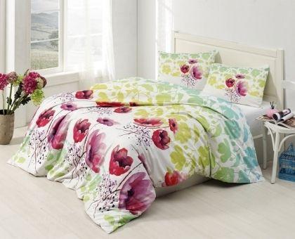 Купить постельное белье RANFORCE ELFIN зеленое 50х70 евро от производителя Altinbasak (Турция)