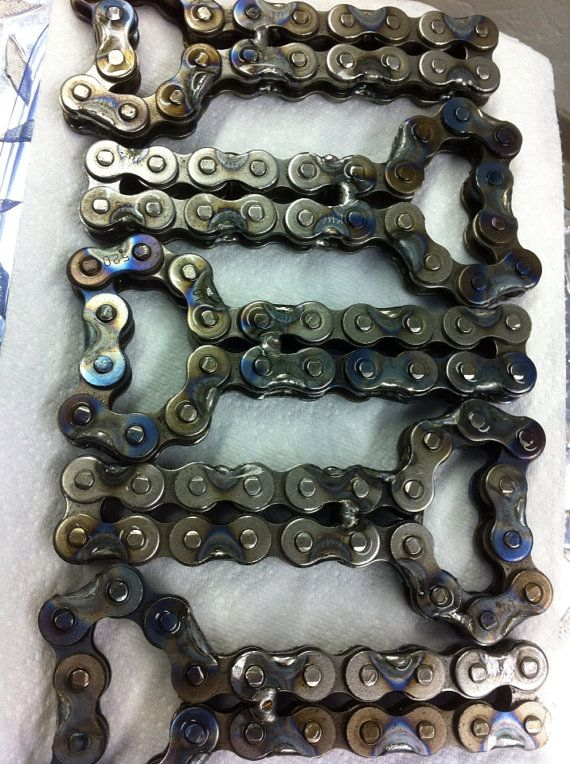 Repurposed Motorcycle Chain Bottle Opener by OrangeBlossomGoods