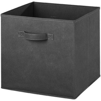 Opbergbox non woven grijs 31cm | Praxis 31-31-31 4,99
