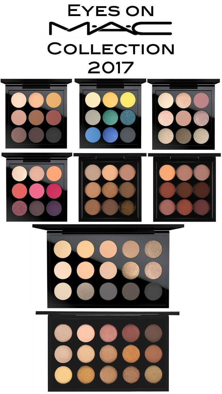 """MAC """"Eyes on MAC"""" Collection of eyeshadow palettes"""