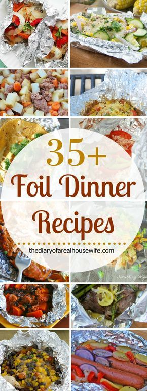 Awesome Foil Dinner Recipe Ideas