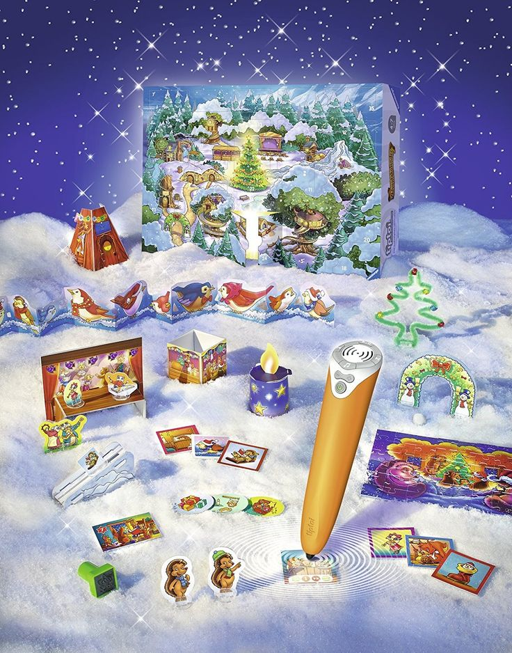 Ravensburger tiptoi 00758 - Adventskalender - Waldweihnacht der Tiere: Amazon.de: Spielzeug