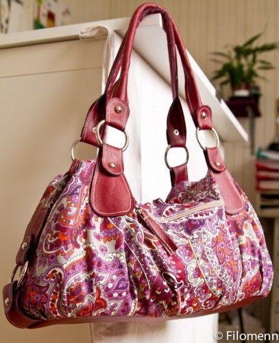 patron et explication du beautiful sac à main - Filomenn