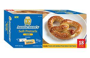 how to prepare frozen soft pretzels