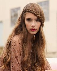 Terrific Fringe Braid Fringes And Braids On Pinterest Short Hairstyles Gunalazisus