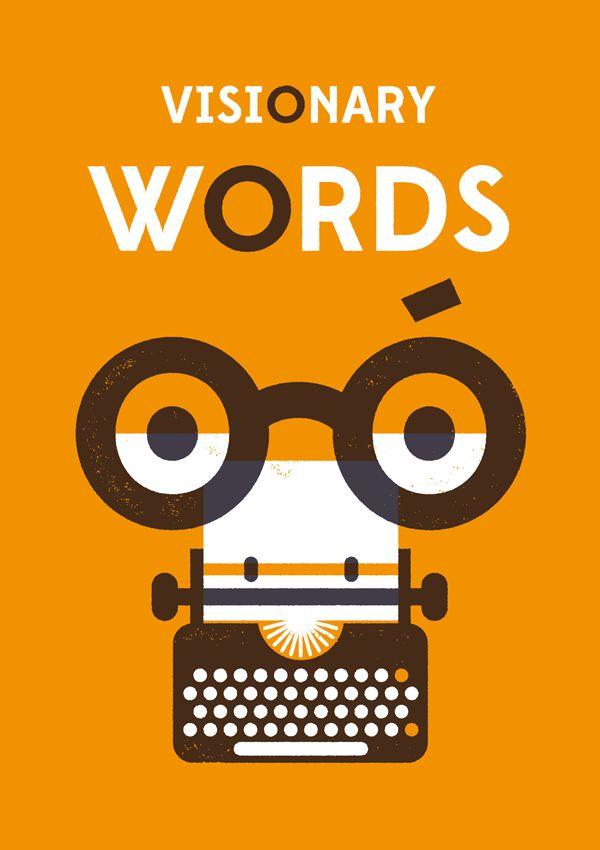 Visionary Words || Aron Vellekoop León || http://aronvl.com/Visionary-Words || #VisionaryWords