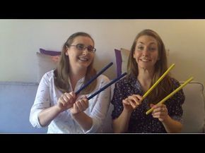Ideas with Rhythm Sticks!!
