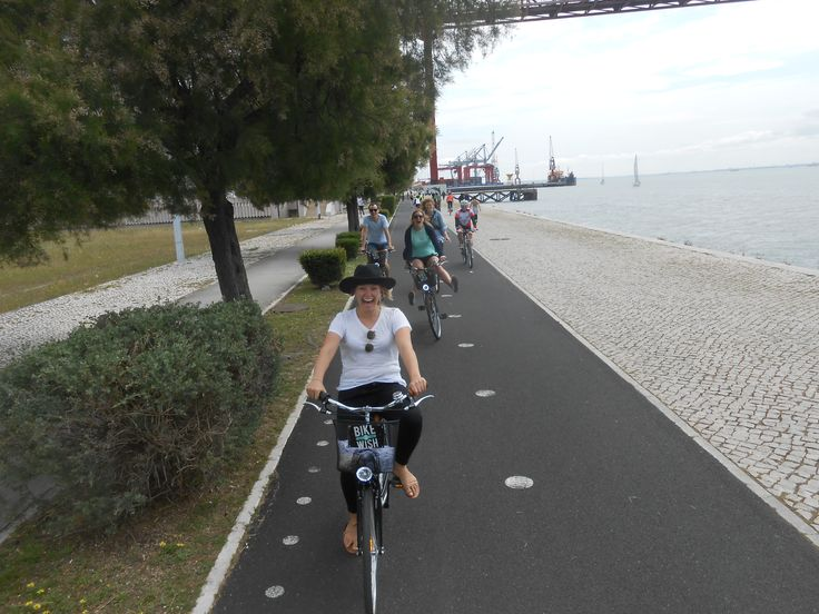 Cycling to Belém