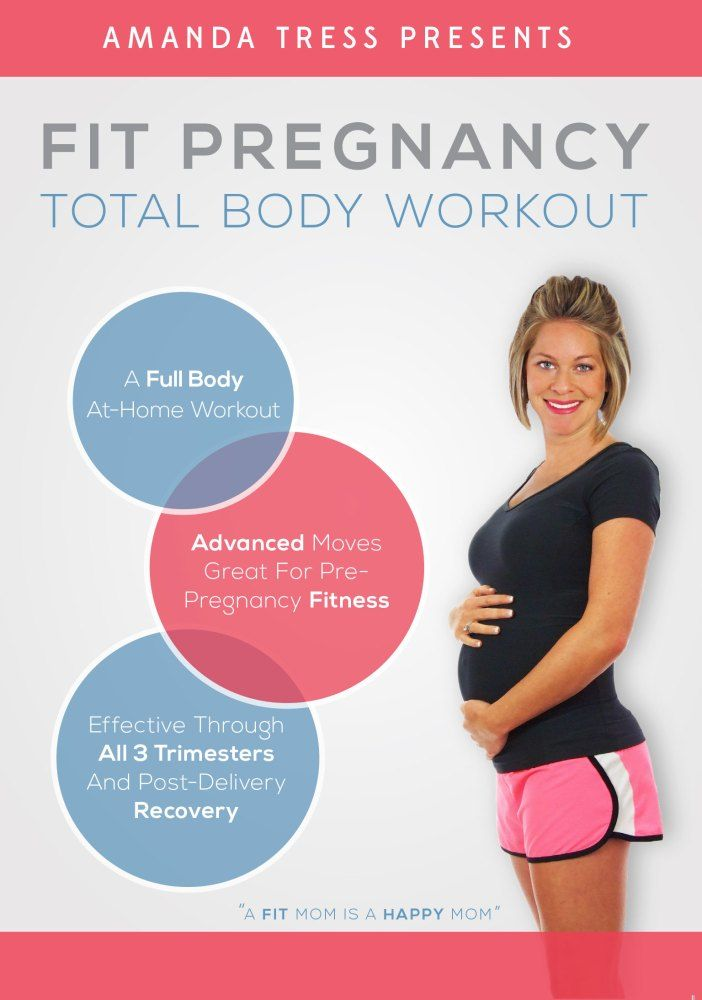 Pregnancy Exercises: Fit Pregnancy Total Body Workout DVD