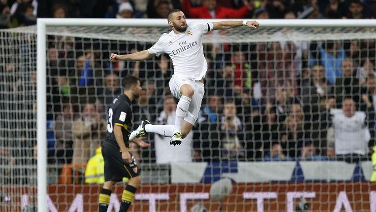 Le Real cartonne Séville (4-0) avec un but de Benzema - Liga 2015-2016 - Football - Eurosport