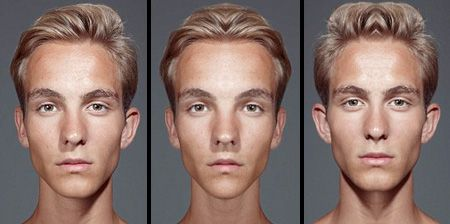 Are symmetrical faces more beautiful? Try echoism.org to see what happens when your face is perfectly symmetrical.
