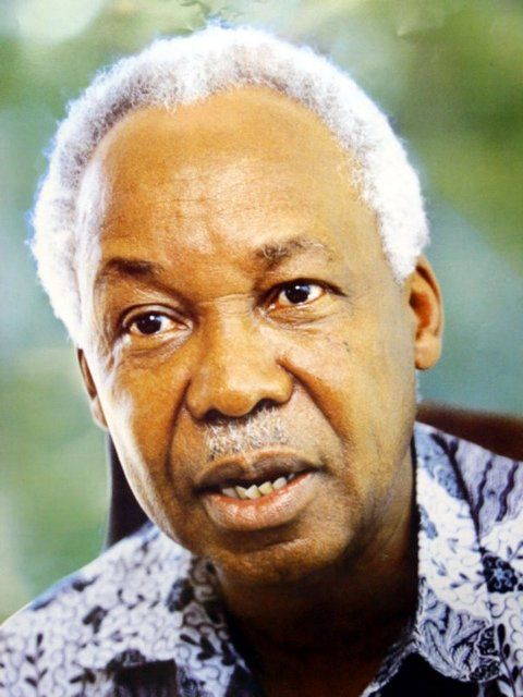 President Julius Nyerere  October 14, 1999 Former Tanzanian President Julius Nyerere dies at the age of 77 from leukemia. Nyerere was lauded as one of the greatest statesmen of his time.