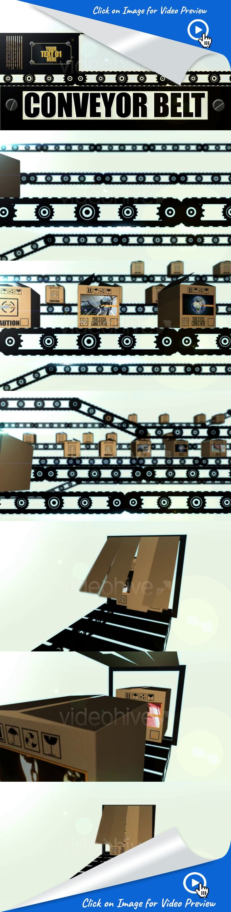 airport, boxes, cardboard, conveyor belt, factory, hotel, industrial, ramp, shopping, title, transport, transporter, travel, after effects templates, after effects ideas, after effects motion graphics, after effects projects, videohive projects 100% After Effects project with lots of potential. Instead of cardboard boxes you can also use live images of people or products shot on green screen etc.  Font used Steelfish. Download  http://www.dafont.com/steelfish.font    Video Tutorial…