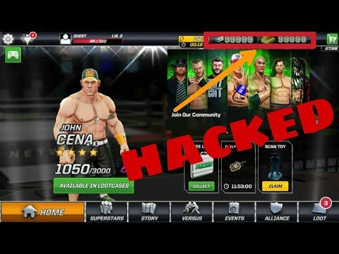 wwe mayhem hack online download