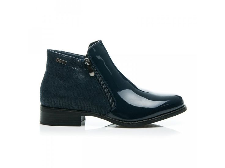 Modré topánky Žaneta