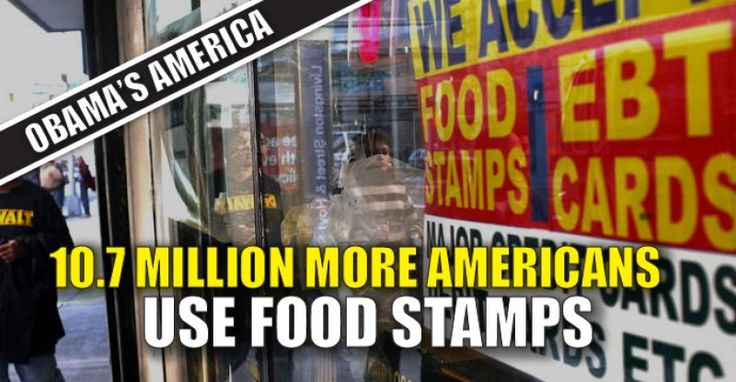 Obama's greatest legacy may end up being the number of Americans who were forced to rely on food stamps thanks to his hopeless economy. There's been a 32% jump in food stamp participants since Obama took office. From Breitbart: The number of food stamps recipients went up by 10.7 million people, a 32 percent jump, since President Obama took office in 2009, according to data released by the Department of Agriculture (USDA). In 2009, 33,490,000 people received food stamp benefits. As of…