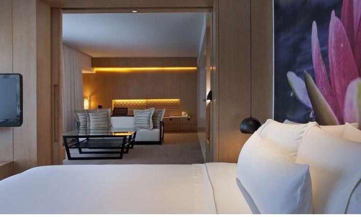 Westin, Hyderabad (India) - Hotel room design by CHADA.