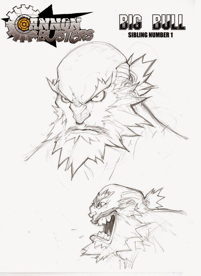 Joe Madureira has partnered up with LeSean Thomas as a concept artist for a Cannon Busters animated series kickstarter! It's pretty ama...