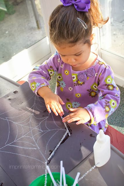 Spider Web Fine Motor Skill Activity Ot Ideas Motor