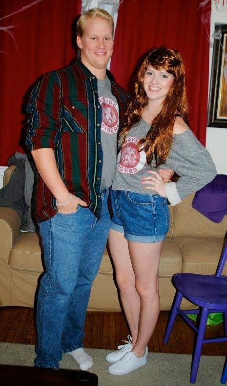 90's Couple Halloween Costume - Kelly Kapowski and Zack ...