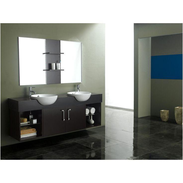 Gallery One James Martin Solid Wood Carissa Double Sink Vanity DA