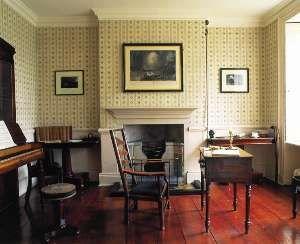 Patrick Bronte's study ~   Bronte Parsonage Museum