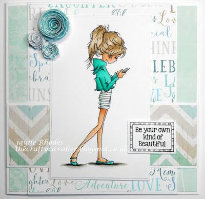 LOTV - Jasmine Phone with Set 103 Sweet and Simple Sentiments by Jayne Rhodes