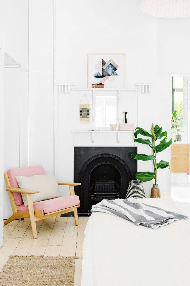 Love the little pink armchair
