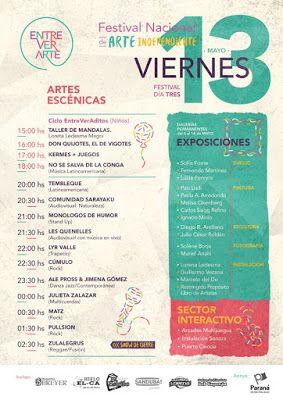 CGCWebRadio®: Agenda de Recitales Mayo 2016 Viernes 13 (Eventos Destacados)
