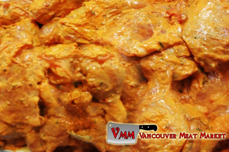 Ginger Garlic Marinated Chicken Legs and Thighs at Vancouver Meat Market