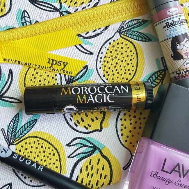 Moroccan Magic Argan & Essential Oil Lip Balm in Peppermint