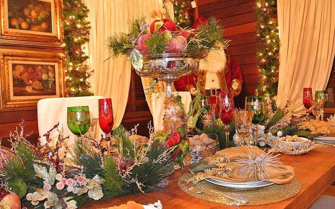 32 ideias para decorar a mesa de Natal - Decoração - iG
