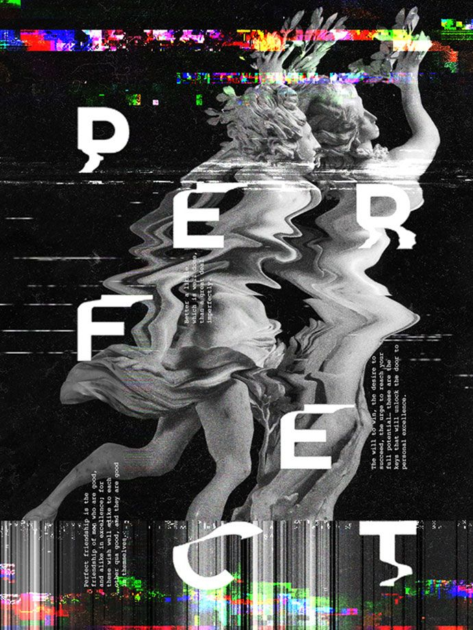 25 Amazing Examples Of Glitch Typography