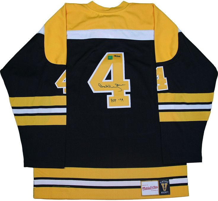 Bobby Orr Boston Bruins Signed Mitchell & Ness HOF-79: GNR COA $999.00   This jersey is personally hand-signed by Hockey Hall of Famer Bobby Orr  100% Guaranteed Authentic   Great North Road Authenticated   Perfect Collector's Item