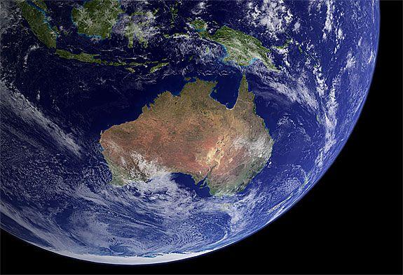 I dream of Australia