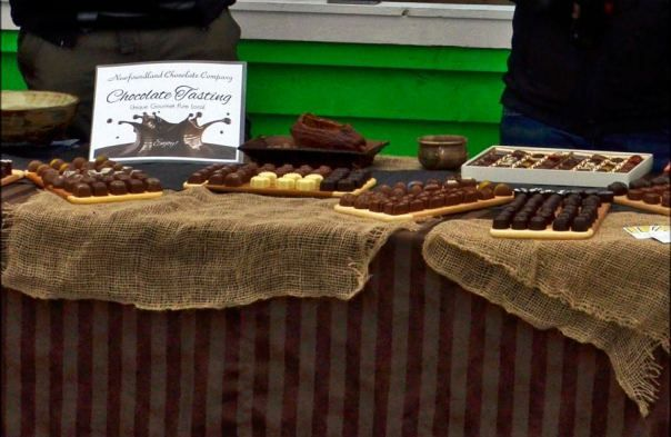 Stu and his team from the NL Chocolate Company profiled local chocolate at the festival, thanks so much for attending!!