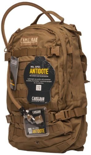 Camelbak HAWG 100-Ounce/3-Liter Mil Spec Antidote Long 621 Hydration Pack…