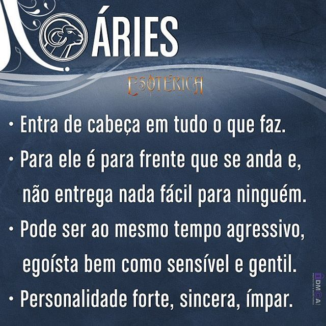 #características #signos #signosdozodíaco #aries #áries