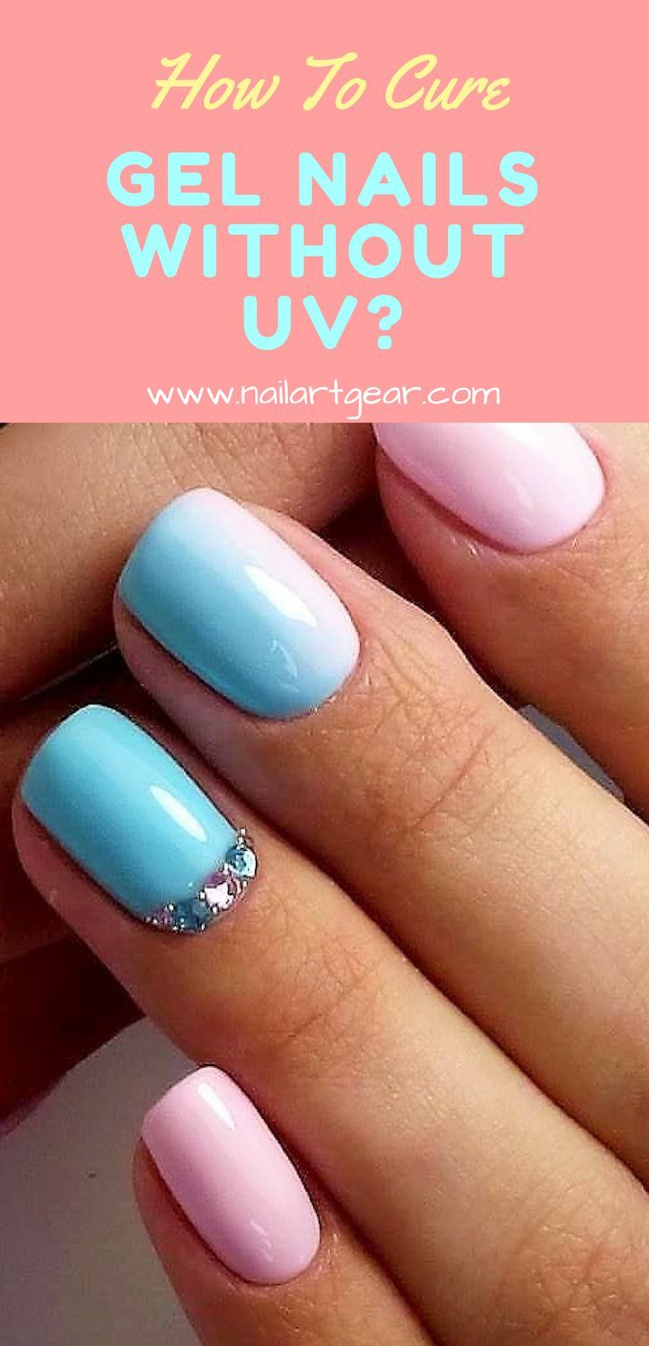 Gel Nails Without Uv : nails, without, Nails, Light., Inside., #noUVlight, Home,