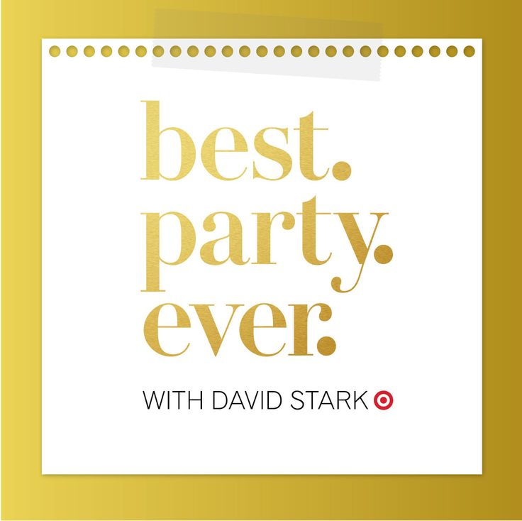 Best.Party.Ever. with David Stark