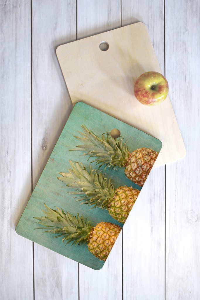 Olivia St Claire Tropical Cutting Board Rectangle | DENY Designs Home Accessories