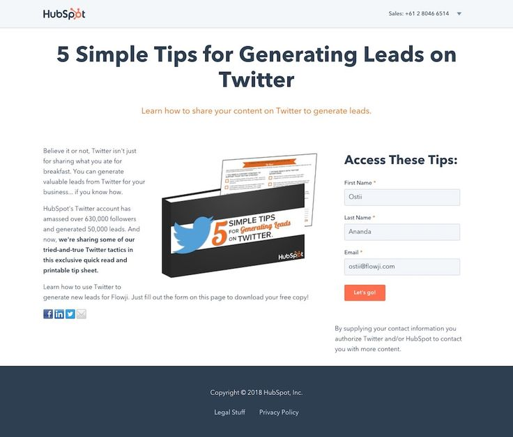 Free Download—5 Simple Tips for Generating Leads on Twitter