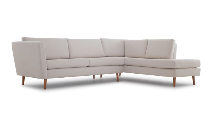 Deluna Sectional with Bumper