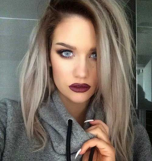 Enjoyable 1000 Ideas About Grey Blonde Hair On Pinterest Grey Blonde Hairstyles For Men Maxibearus