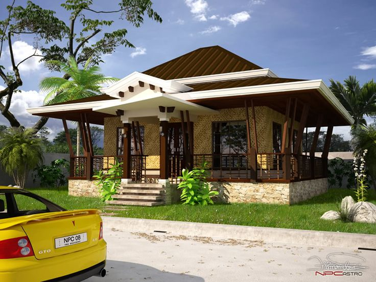 Modern Bamboo House Blueprints Rest House Tropical Houses House Design Tagaytay Palawan Jenifer