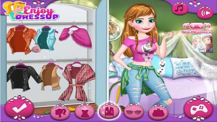 Disney Frozen Games ♥  Makeover and Dress Up ♥ [Girl Games For Fee] [HD]